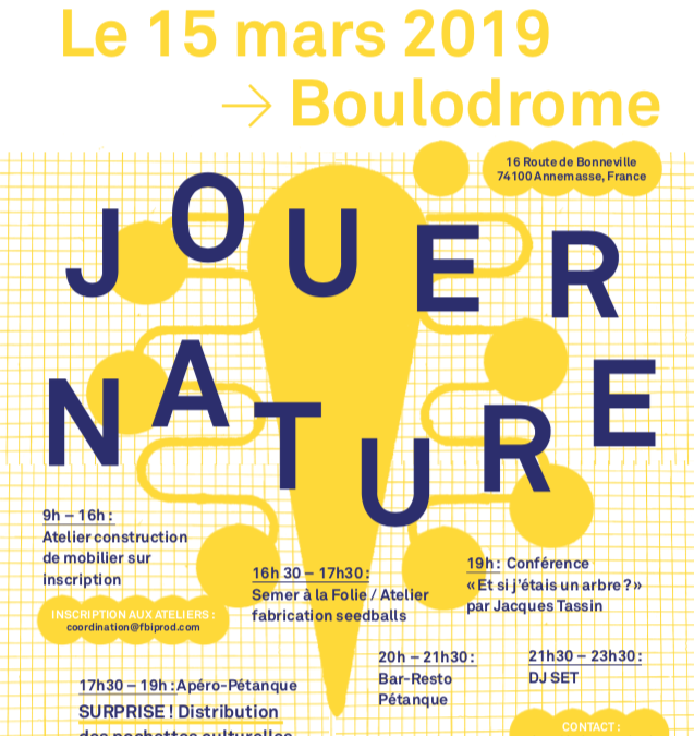 "PODCAST LE SISMOGRAPHE ""JOUER NATURE"""